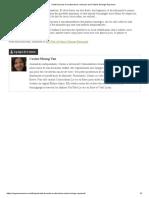 Suite Article Santé Buccale Et Crudivorisme, Entrevue Du Dr Marie-Solange Raymond