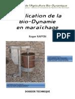 Application de La Bio Dynamie en Maraichage