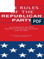 2016 Rules of the Republican Party--2020 Cycle