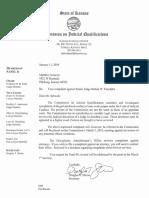 Response Regarding Complaint Against Kansas Judge Robert Fairchild January 11th 2019