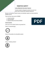 Robotics Safety Handbook