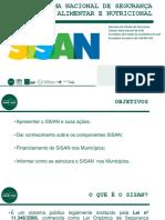 Estruturação do SISAN  (Praisan)
