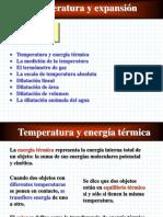 Física 2°Medio Temperatura y expansión