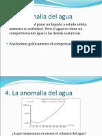 Física 4. Anomalia Del Agua