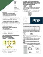Evaluacion Diagnostica 6 Biologia