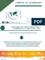 Teleconferência - Dia Mundial da Alimentação