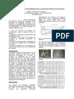 Desarrollo de mezclas de hormigón con la adicción de partículas de caucho
