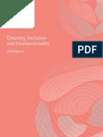 Diversity Inclusion 2018