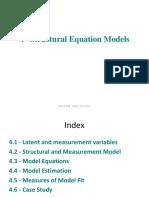 Cap 4-Structural Equation Models