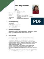 Curriculum Vitae Rosana