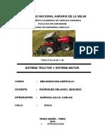 Practica 4 y 5 Sistema Tractor y Sistema Motor