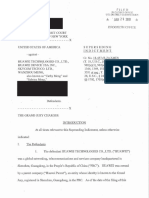 U.S. Indictment against Huawei CFO Meng Wanzhou
