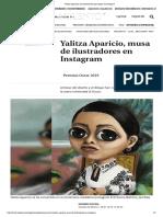 Yalitza Aparicio_ Las Ilustraciones Que Inspira en Instagram