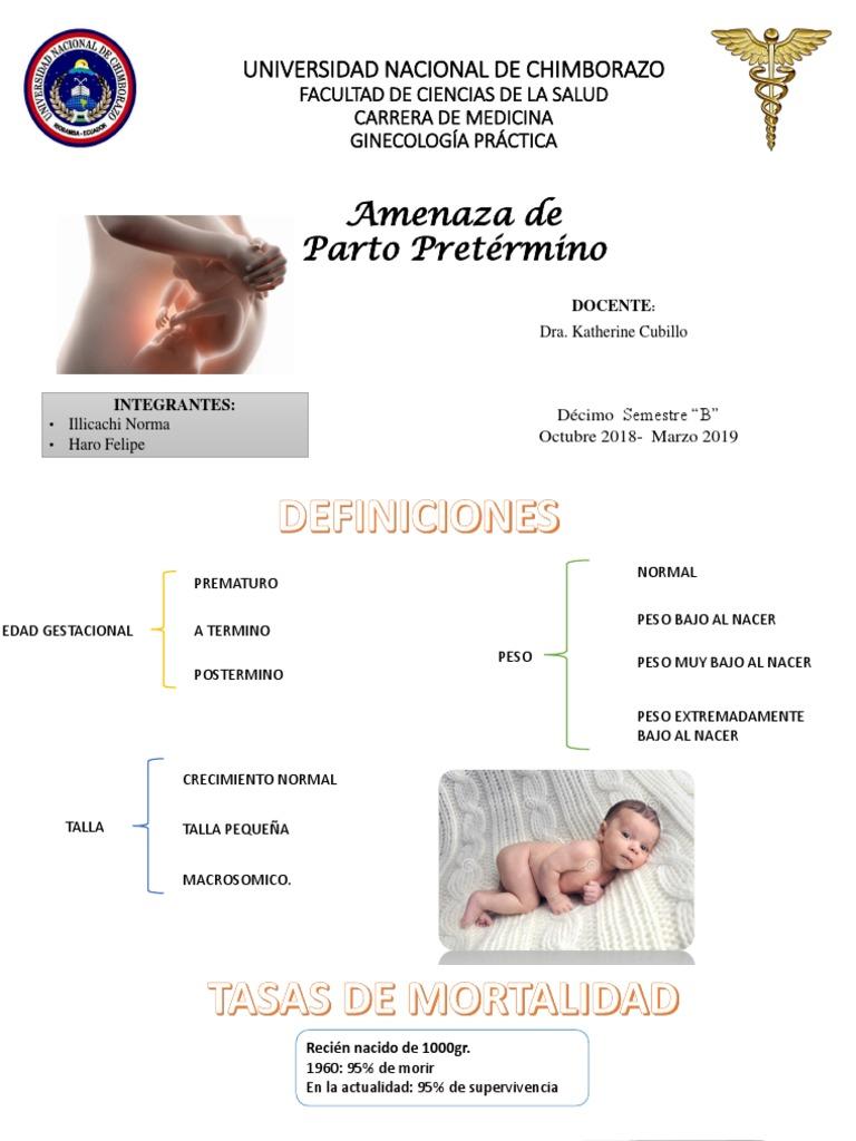 Amenaza De Ppt Preterm Birth Childbirth