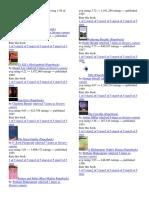 Popular Literary Canon Books