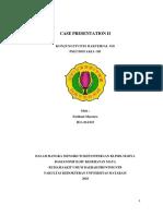 Case Presentation II Konjungtivitis