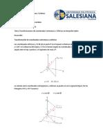 Transformaciones de Coordenadas Cartesianas a Esféricas en Integrales Triples