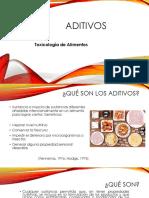 Toxicología de aditivos