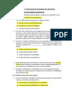 Examen 01 - Interpretación de Análisis de Lubricantes