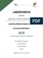 MEDICINA Y PRODUCCIÓN de Bovinos CCBA