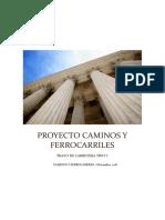 Proyecto Caminos y Ferrocarriles ESIA Zacatenco