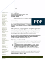Tree Care Industry Assoc_letter to Cal_OSHA wood chippers_2019