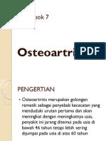 Kelompok 7 GERONTIK Osteoartritis