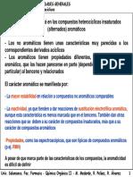 Compuestos Heterocíclicos Insaturados (Alternados) Aromáticos