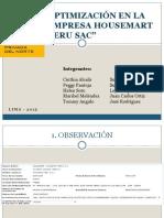 Final Optimización en La Empresa Housemart Peru Sac