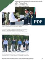 16-01-2019 Asiste Gobernador Astudillo a Toma de Posesión y Protesta de Bandera del Mando Especial Iguala.