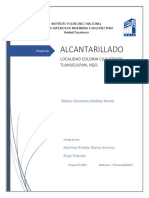 Proyecto Alcantarillado