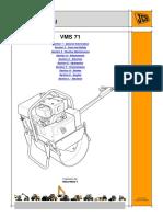 JCB VMS71-20 Mini Road Roller Service Repair Manual SN 1450500 to 1450999.pdf