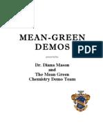 Mean-Green Demos by Dr. Diana Mason