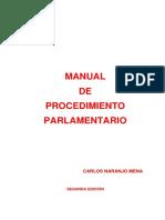 Manual de Procedimiento Parlamentario Segunda Edicion