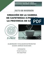 PROYECTO CAFETERÍA
