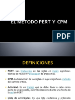 CLASE DE PERT Y CPM
