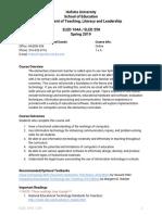 eled 104a   eled 258 spring 2019 - part 1 - syllabus