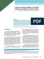 EFECTOS TÓXICOS DE LOS METALES SOBRE LA ACTIVIDAD MICROBIANA EN LODOS ACTIVADOS.pdf