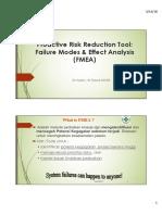 Analisa Proaktif Dengan FMEA Arjaty 2018