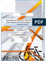 Informe Diseño Geometrico de Carreteras