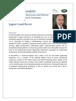 Alex Mouzakitis JLR Profile