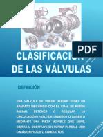 Clasificacion de Las Valvulas Edu Ojeda