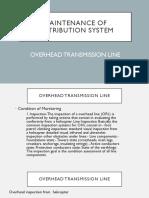 Maintenance of Overhead Transmission Lines