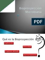 Bioprospección Microbiana