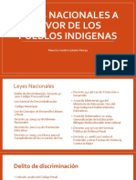 Leyes Nacionales a Favor de Los Pueblos Indigenas
