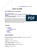 Communications in India - Wikipedia, the free encyclopedia