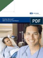 Brochure Ventilator PB840