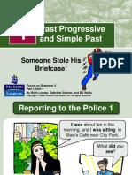 Past Progressive vs S. Past