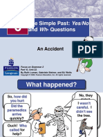 Past Simple and Yes_No Questions