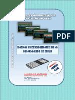 PROGRAMACION HP PRIME_CLASE N°01